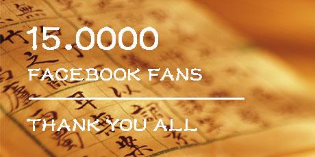 15.000 Mandalingua Fans on Facebook