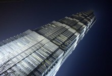 Jin Mao Building in Shanghai at Business District