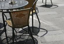 cafe chairs in Xin-Tian-Di,Shanghai