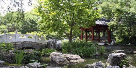 Pagode im Chinesischen Garten in China