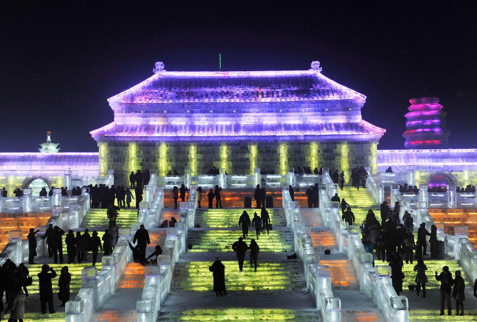 Harbin Ice Festival Mandalingua