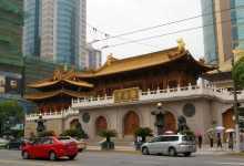 Jing'an Temple in Shanghai