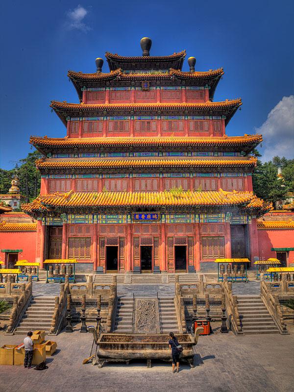 Chinesische Tempel