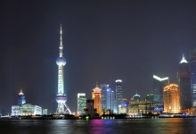 View Bund in Shanghai