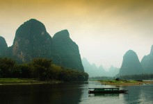 mountain and water of guilin in China